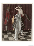 Gown by Beer Giclee Print by Pierre Brissaud