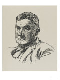 Ralph Vaughan Williams Musician Giclee Print by Powys Evans