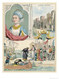 Marguerite de Provence Queen of Louis IX of France Giclee Print by Melville Gilbert