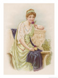 Young Woman of High Rank Giclee Print by Lydia Frances