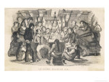 Saturday Night at Sea Giclee Print by George Cruikshank