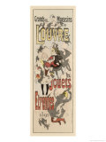 Poster Advertising Toys for Sale at the Grands Magasins Du Louvre Paris Giclee Print by Jules Chéret