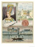 Isabeau de Baviere Giclee Print by Melville Gilbert
