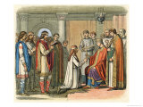 Baptism of Guthorm Giclee Print by James Doyle