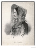 Madame Marie Lafarge Nee Cappelle at the Time of Her Trial in July 1840 Giclee Print by Eric De Coulon