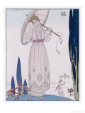 Summer Tunic Dress Giclee Print by Georges Barbier