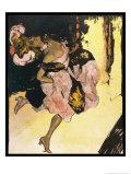Madame Adele Dancer Giclée-Druck von Ferdinand Von Reznicek