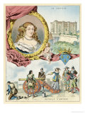 Mlle de Montpensier Giclee Print by Melville Gilbert