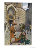 Romeo and Juliet, Act III Scene I, The Death of Mercutio Romeo's Friend Giclee Print by Edwin Austin Abbey