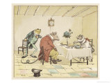 """A Frog He Would A-Wooing Go"" 4 of 4 Giclee Print by Randolph Caldecott"