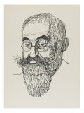 Lucien Pissarro Artist and Printer Son of Camille Pissarro Giclee Print by Powys Evans