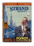 The Strand: Agatha Christie&#39;s Hercule Poirot Giclee Print by Jack M. Faulks