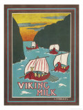 Viking Milk Giclee Print by C. Foulkes