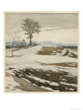 The First Thaw Giclee Print by Rudolf Sieck