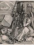 Albrecht Dürer - Melancholia Digitálně vytištěná reprodukce