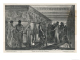 Phidias at Work on the Parthenon Frieze Giclee Print by Cooper 