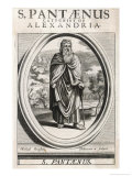 Saint Pantaenus Stoic Philosopher Giclee Print by Michael Burghers