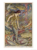 The Crown Returns to the Queen of the Fishes Giclee Print by Henry Justice Ford