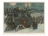 Snowbound Giclee Print by Frank Dadd
