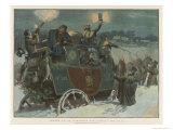 Snowbound Giclee Print by Frank Dadd