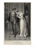 Act III Scene II: Queen Margaret and the Duke of Suffolk Giclee Print by Issac Taylor