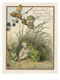 Croak Said the Frog Giclee Print by Eleanor Vere Boyle