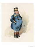 The Pickwick Papers: Joe, The Fat Boy Giclee Print by Joseph Clayton Clarke