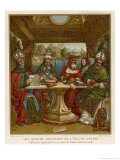 The Four Doctors of the Catholic Church Giclee Print by Sacchi Di Pavia