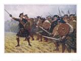 Jacobite Victory at the Battle of Prestonpans Premium Giclee Print by Allen Stewart