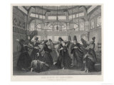 Whirling Islamic Dervishes Giclee Print by W. Forrest