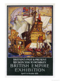 Empire Exhibition 1924 Giclee Print by E.a. Cox