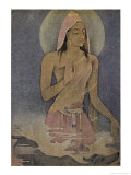 Yudhishthira the Eldest of the Pandava Brothers Giclee Print by Nanda Lal Bose