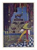 Illustration to the Tale by Hans Andersen Gicleetryck av Harry Clarke