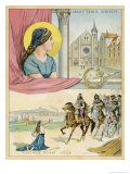 French Nun and Saint the Abbaye Sainte Genevieve Giclee Print by Melville Gilbert