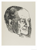Archibald Marshall Probably a Writer But One Giclee Print by Powys Evans