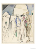 Clothes for Morocco 1924 Giclee Print by Hubert Giron