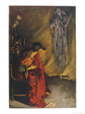 Julius Caesar, Act IV Scene III: Brutus and the Ghost Giclee Print by Edwin Austin