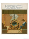 Little Jack Horner Sits in a Corner Eating His Christmas Pie Giclee Print by Edward Hamilton Bell