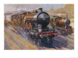 Southern Belle Express Giclee Print by Cyrus Cuneo