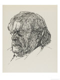 Augustine Birrell Critic and Writer Giclee Print by Powys Evans