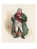 Mr. Tony Weller (Senior), The Father of Sam Weller Mr. Pickwick's Servant Giclee Print by Joseph Clayton Clarke