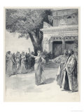 Sybil Sanderson Takes the Title Role in This Story of the Egyptian Courtesan Giclee Print by Paul Destez