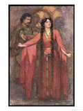 Macbeth, Act II Scene II: Give Me the Daggers Giclee Print by G. Demain