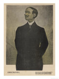 Paul-Eugene-Louis Deschanel French Statesman President Briefly in 1920 Giclee Print by Leal da Camara