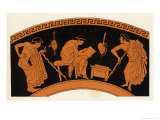 Lecture in Ancient Greece Giclee Print by George Scharf