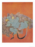 Garuda the Eagle Who Became Vishnu's Mount Giclee Print by Nanda Lal Bose