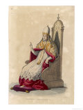 Pope Silvester II (Gebert) French Pope Giclee Print by Allais