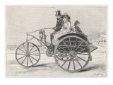 Electric Dog-Cart: Battery- Powered Giclee Print by Melville Gilbert