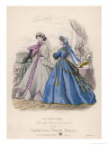 Fashion and Dog 1865 Giclee Print by Jules David