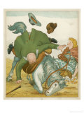 Farmer Went Trotting Upon His Bay Mare Giclee Print by Edward Hamilton Bell